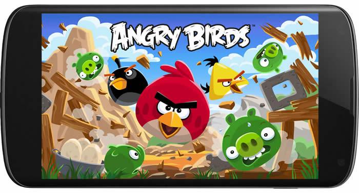 App de Angry Birds