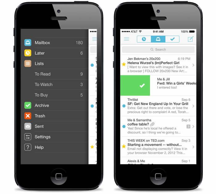 App de Mailbox