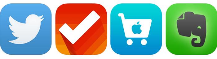 Estilo de íconos de lanzamient en iOS