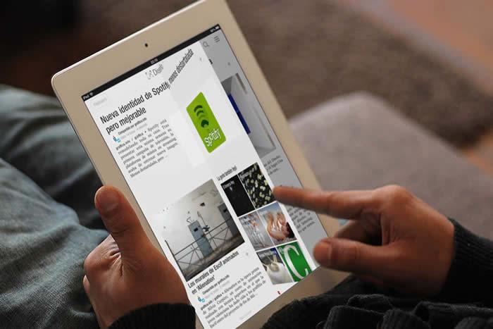 App de Flipboard para iPad